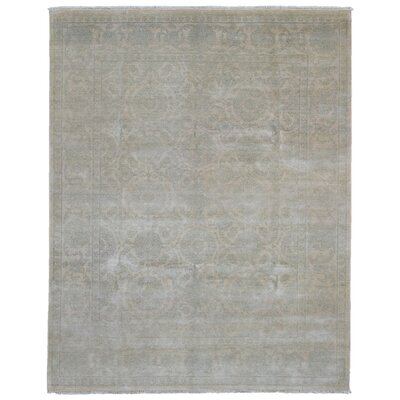 One-of-a-Kind Otley Glam Design Oriental Hand Woven Wool Beige Area Rug