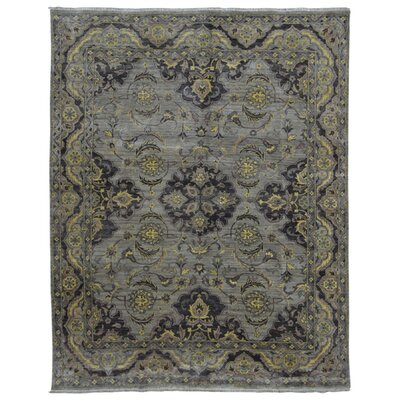 One-of-a-Kind Baron Oriental Hand Woven Wool Black/Gray Area Rug