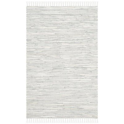 Dryden Silver Area Rug Rug Size: Rectangle 26 x 4