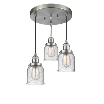 Bourland 3-Light Cluster Pendant Finish: Brushed Satin Nickel
