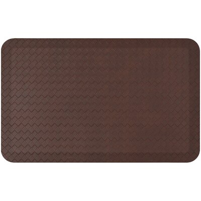 Kareem Comfort Kitchen Mat Color: Brown