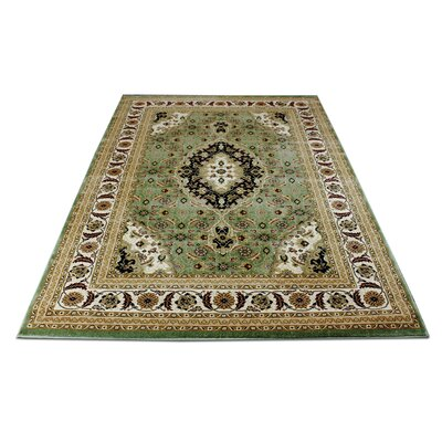 Boody Traditional Oriental Brown Area Rug Rug Size: Rectangle 54 x 75