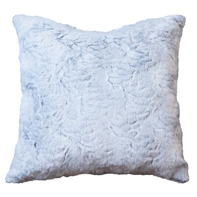 Lorne Frost Faux Fur Throw Pillow