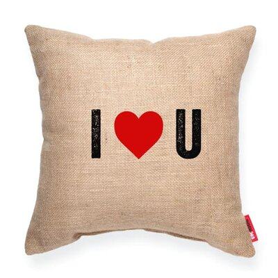 Pettis I Heart U Throw Pillow
