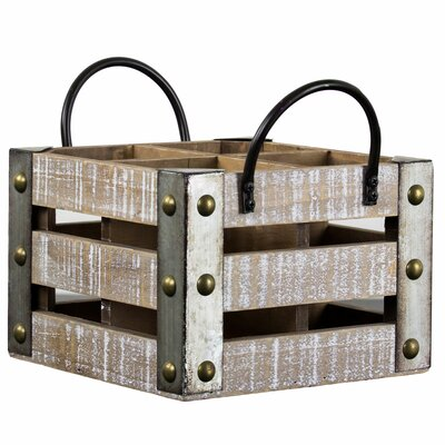 Leafwood 4 Bottle Tabletop Wine Rack