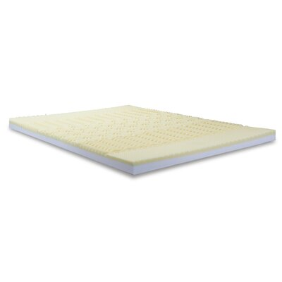 Convoluted Foam Combination Mattress Topper Bed Size: Queen