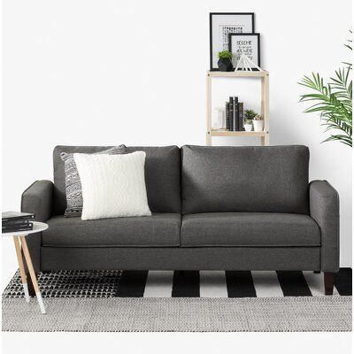 Live-It Cozy Standard Sofa Upholstery: Charcoal Gray