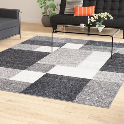 Pamplin Gray Area Rug Rug Size: 710 x 10