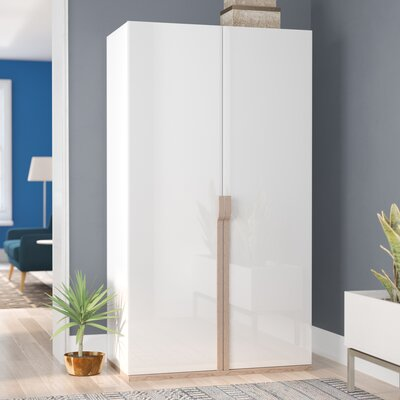Alice 2 Doors Gloss Armoire