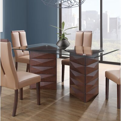 Weldon Double Pedestal Base Dining Table