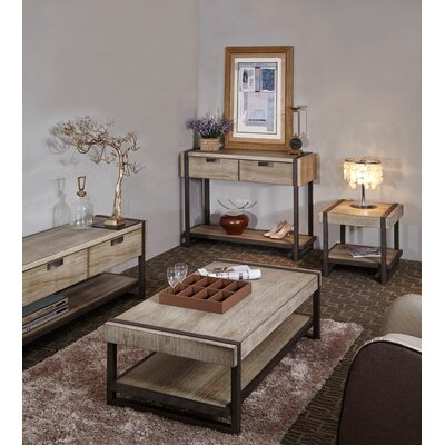 Dominey 3 Piece Coffee Table Set
