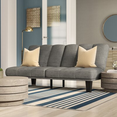 Picasso Convertible Sofa Upholstery: Gray