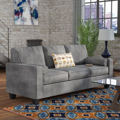 Doering Sofa Upholstery: Alcatraz Charcoal / Mandala Mineral