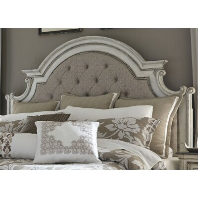 Ramer Upholstered Panel Headboard Size: King