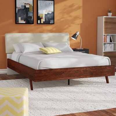 Trinity Queen Upholstered Platform Bed