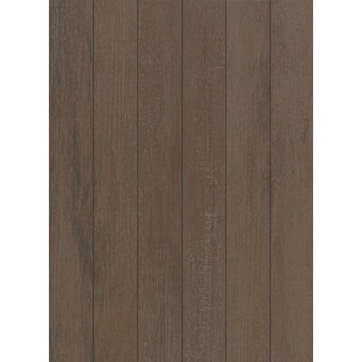 Stanbury Glazed 3 x 24 Porcelain Wood Look Tile in Natural Chocolate