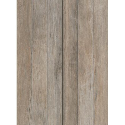 Stanbury Glazed 3 x 24 Porcelain Wood Look Tile in Stormy Gray