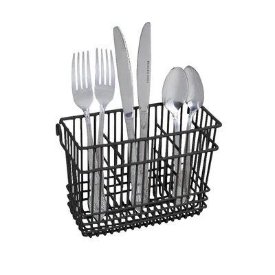 Cutlery Rinse Basket Color: Black
