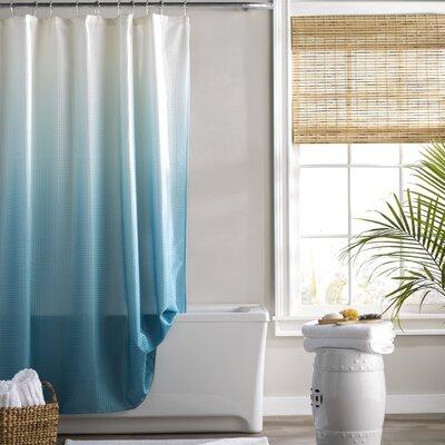 Kobayashi Spa Bath Shower Curtain Color: Aqua