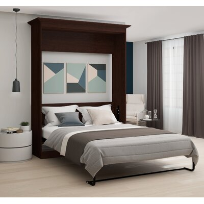 Burris Wall Murphy Bed Size: Queen