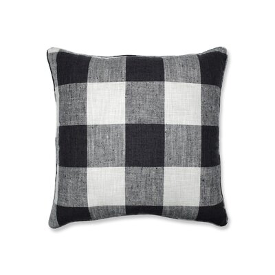 Donegore Indoor Check Please Koi Floor Pillow Color: Black