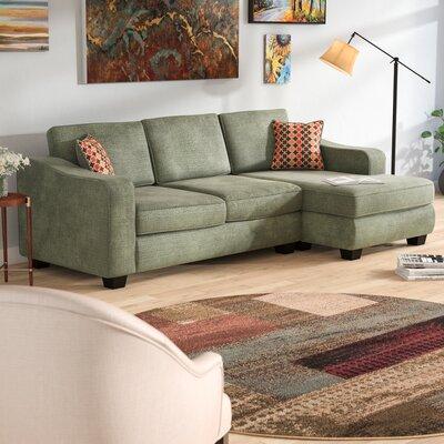 Marilla Sectional Upholstery: Casandra Silver