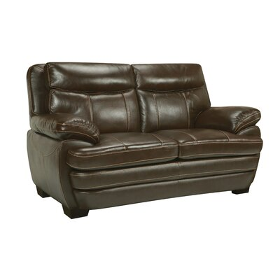 Suber Leather Loveseat