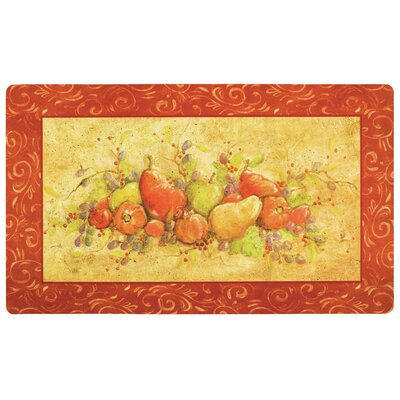 Holland Fruit Landscape Kitchen Mat