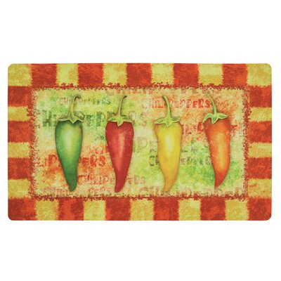 Hollandsworth Hot and Spicy Kitchen Mat