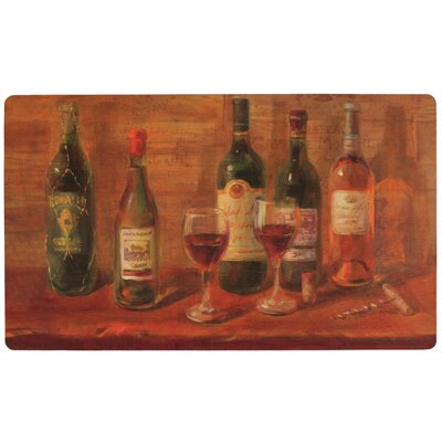 Hollingshead Wine Tasting Table Kitchen Mat