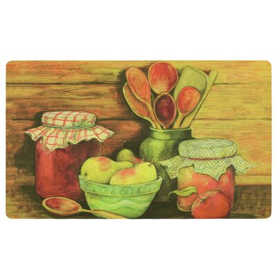 Aisha Wooden Spoons Kitchen Mat