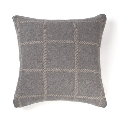 Olive Cotton Throw Pillow