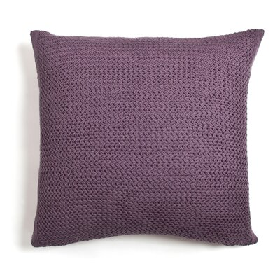 Daniel Cotton Throw Pillow Color: Lilac
