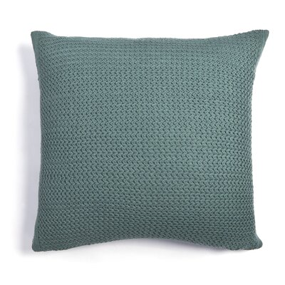 Daniel Cotton Throw Pillow Color: Teal