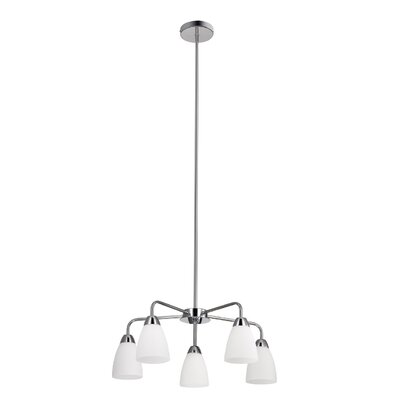 Bice 5-Light Shaded Chandelier
