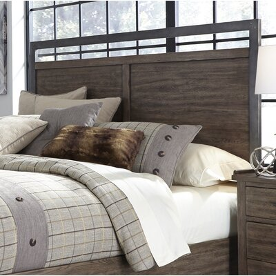 Clayton Panel Headboard Size: King