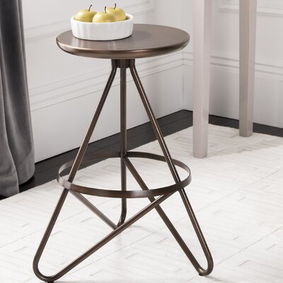 Steppe 24 Bar Stool Color: Antique Copper