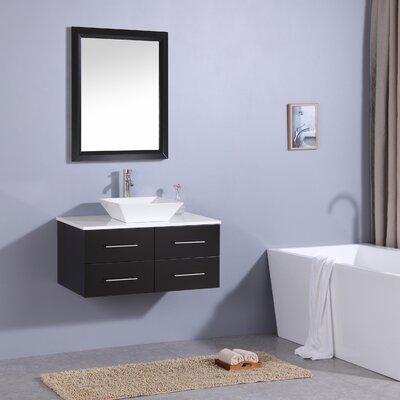 Havel 36 Single Bathroom Vanity Set Base Finish: Espresso