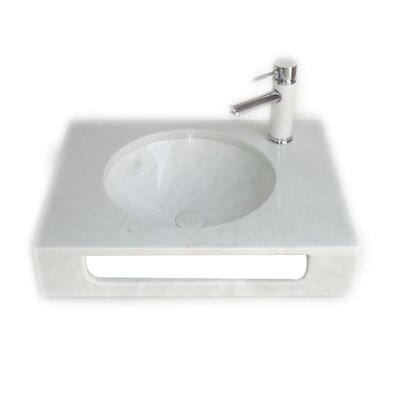 Pasadena 10 Wall-Mount Bathroom Sink with Overflow