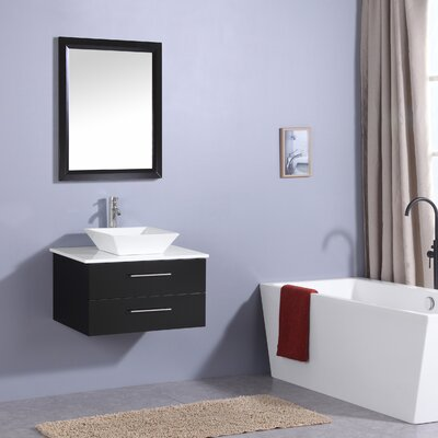 Havel 30 Single Bathroom Vanity Set Base Finish: Espresso
