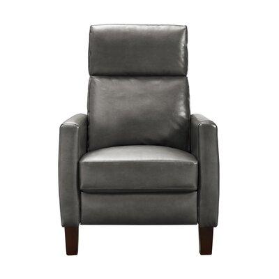 Azurine Pushback Manual No Motion Recliner Upholstery: Gray