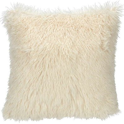 Deloney Throw Pillow Color: Ivory
