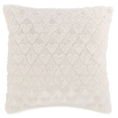 Baumer Soft Little Hearts Throw Pillow