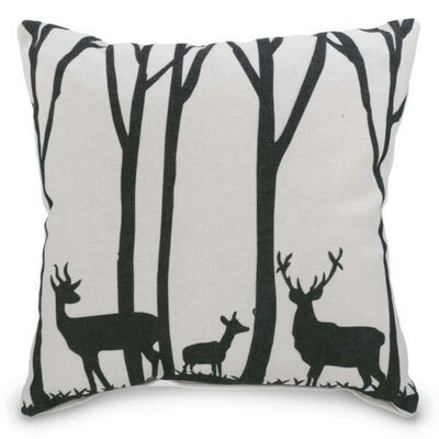 Muscato Deers Throw Pillow