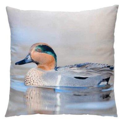 Alfonso Duck Throw Pillow