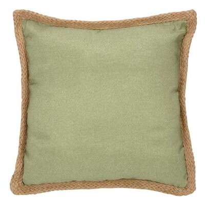 Ai Jute Trim Throw Pillow