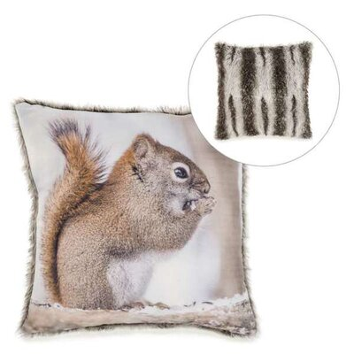 Truelson Squirrel Throw Pillow