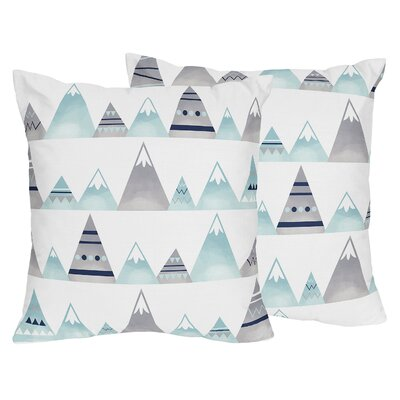 Mountains Indoor/Outdoor Decorative Accent Throw Pillow