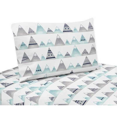 Mountains 4 Piece Sheet Set