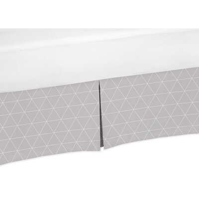 Fox Patch Triangle Bed Skirt Size: 14 H x 39 W x 75 D
